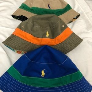 Ralph Lauren Polo Bucket Hat Log